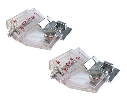 Amazon Yueton 40pcs Adjustable Bias Tape Binding Foot For Sewing Interesting Binding Foot For Sewing Machine