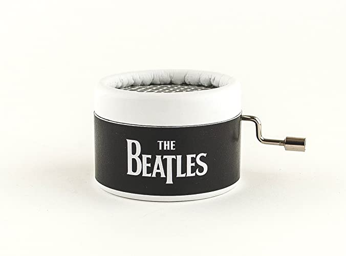 Caja musical The Beatles con diferentes canciones de la famosa banda de Liverpool. Envío gratuito