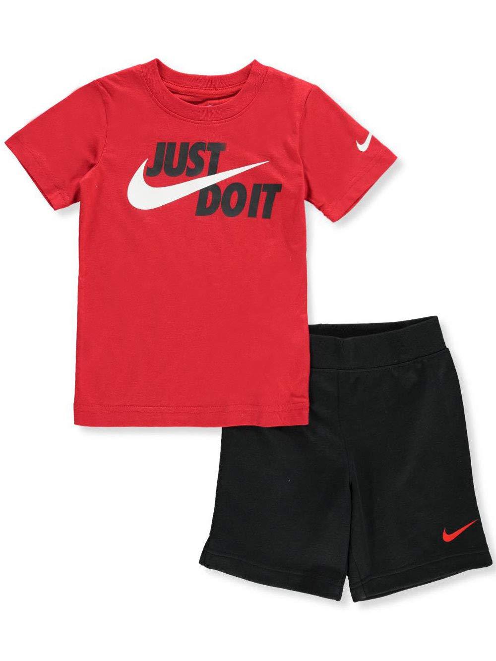 Nike Boys' 2-Piece Shorts Set Outfit - Black, 4t