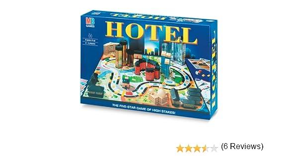 Hasbro - Hotel, juego de mesa (versión en italiano): Amazon.es ...
