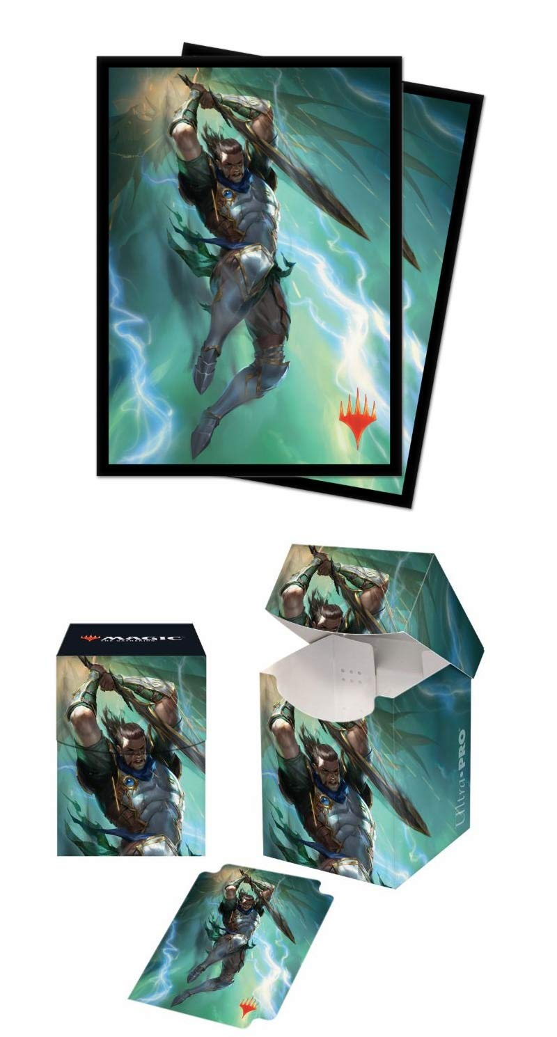 Bundle: Magic: The Gathering - War of The Spark - V1 (100+ Deck Box & 100 Protector Sleeves)
