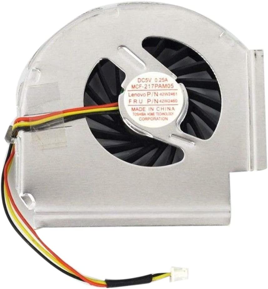 Semoic New CPU Cooling Fan for Thinkpad T61 T61P 3 Pin