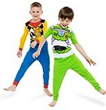 Disney Boys' Toy Story 4-Piece Cotton Pajama Set