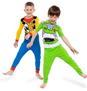 AME Sleepwear Children s Apparel Disney Boys  Toy Story 4-Piece Cotton  Pajama Set 5e42b5aa259