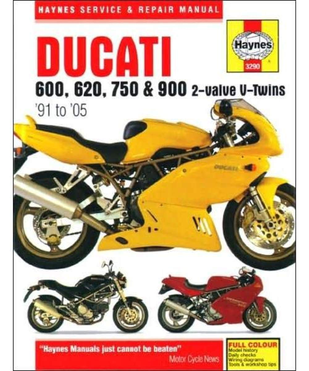 1991-2005 Ducati Monster 600 620 750 900 SuperSport HAYNES REPAIR MANUAL  3290, Lug Wrenches - Amazon Canada