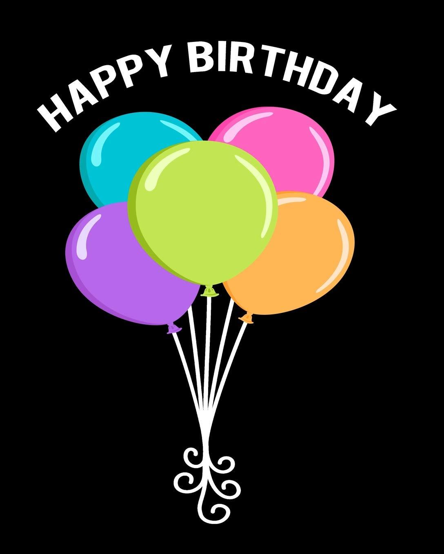 Gift Marine animals Underwater World Birthday Happy Birthday Balloon