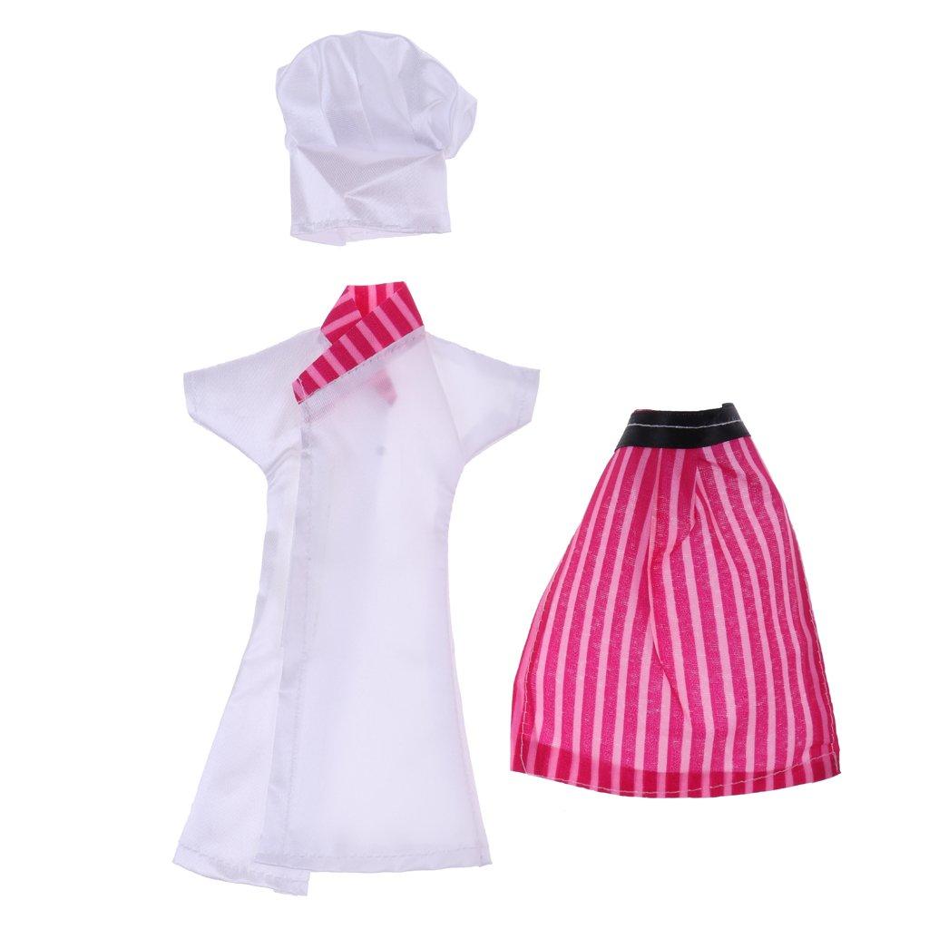 Amazon.es: Juguete Mini Vestido Traje de Cocinero con ...
