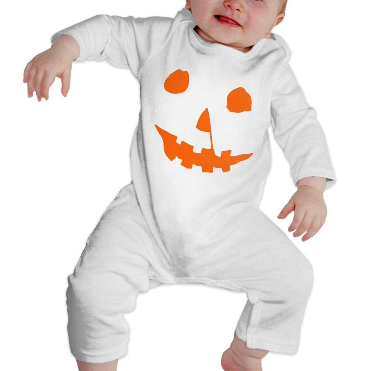 Baby Girls Long Sleeve Jumpsuit Halloween Movie Lantern Toddler Jumpsuit