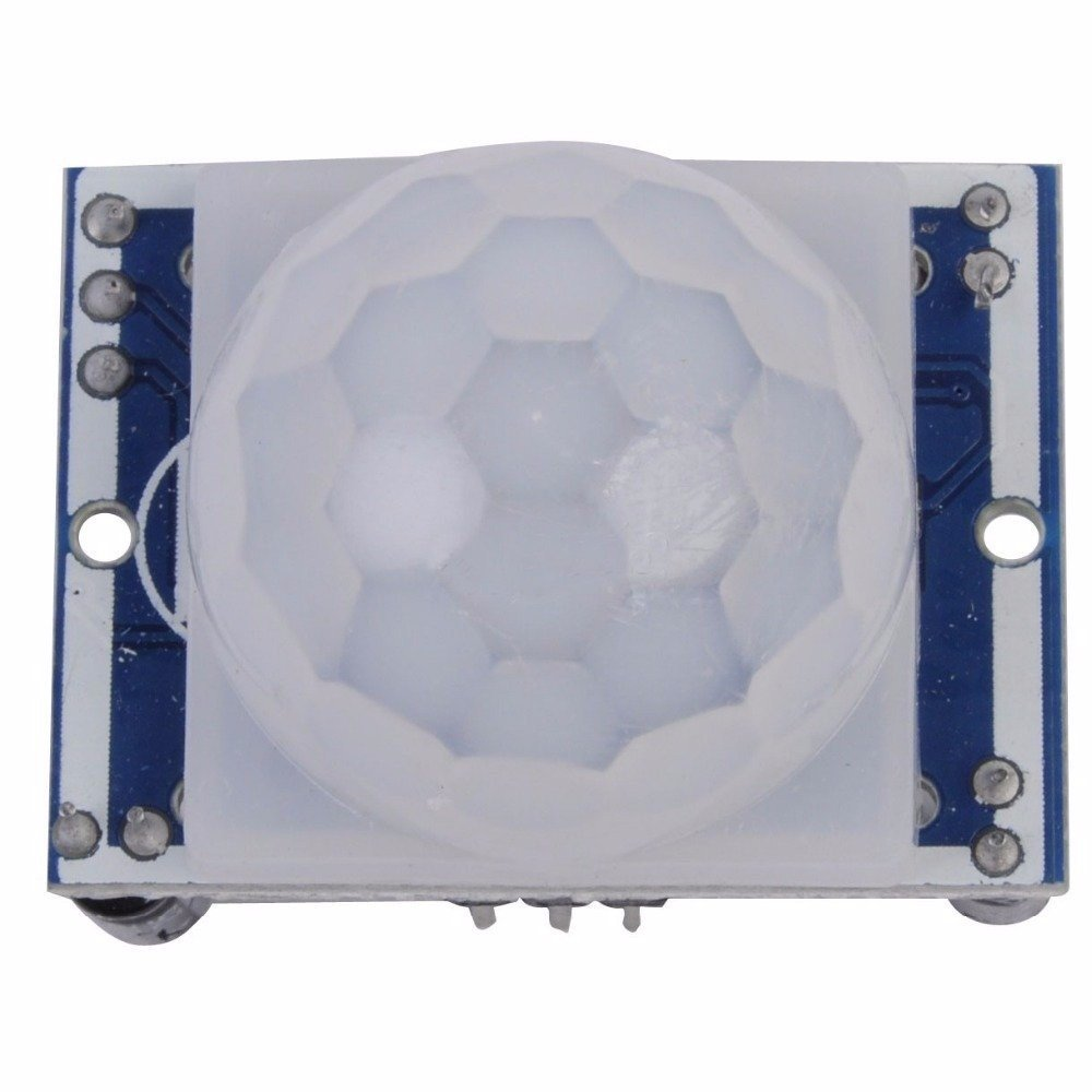BAJIAN-LI Ajustar IR Infrarrojos piroeléctricos IR Sensor de movimiento PIR Módulo detector HC-SR501 para Arduino Raspberry Pi DIY etc: Amazon.es: ...