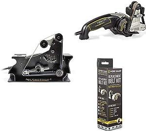 Work Sharp WSSAKO81112 Blade Grinder Attachment with Work Sharp Ken Onion Edition and Assorted Belt Kit