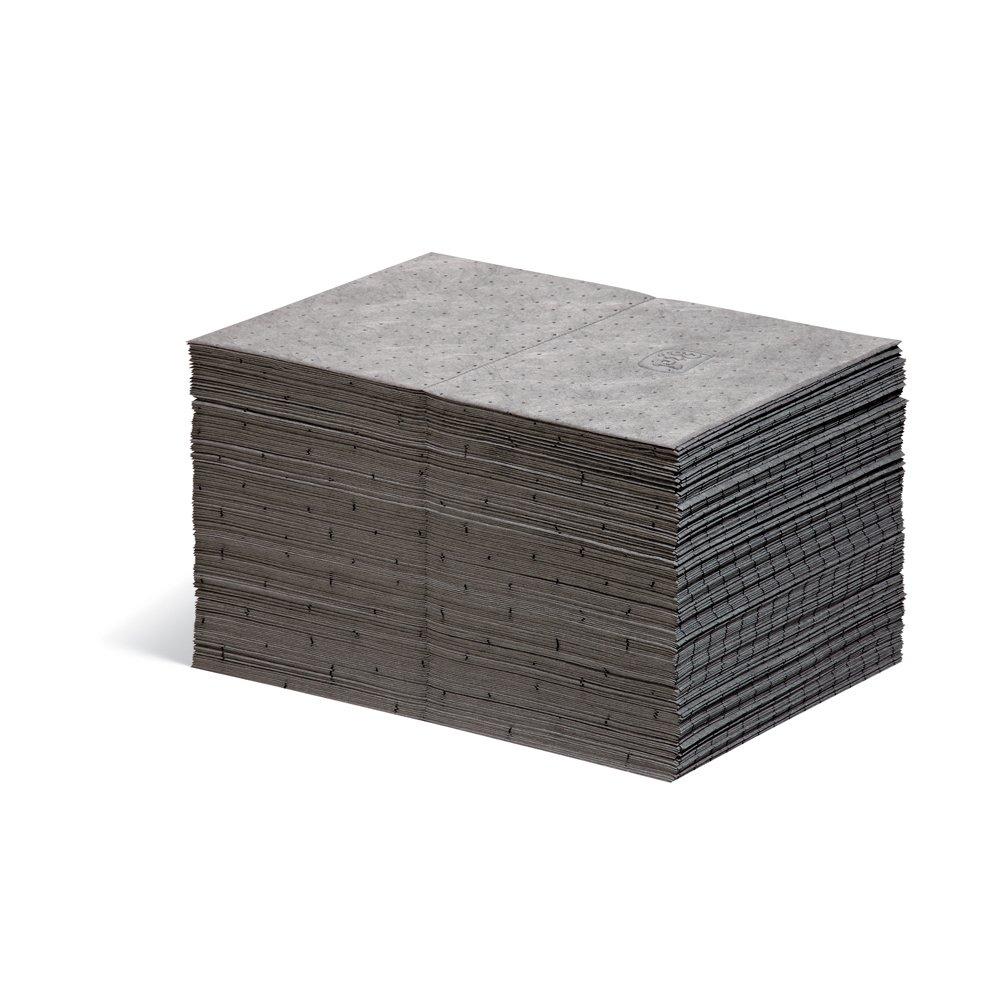 New Pig Mat Pads | Lightweight Absorbent Mats | 14-Ounce Absorbency | Absorbs Oil, Water & More | 15