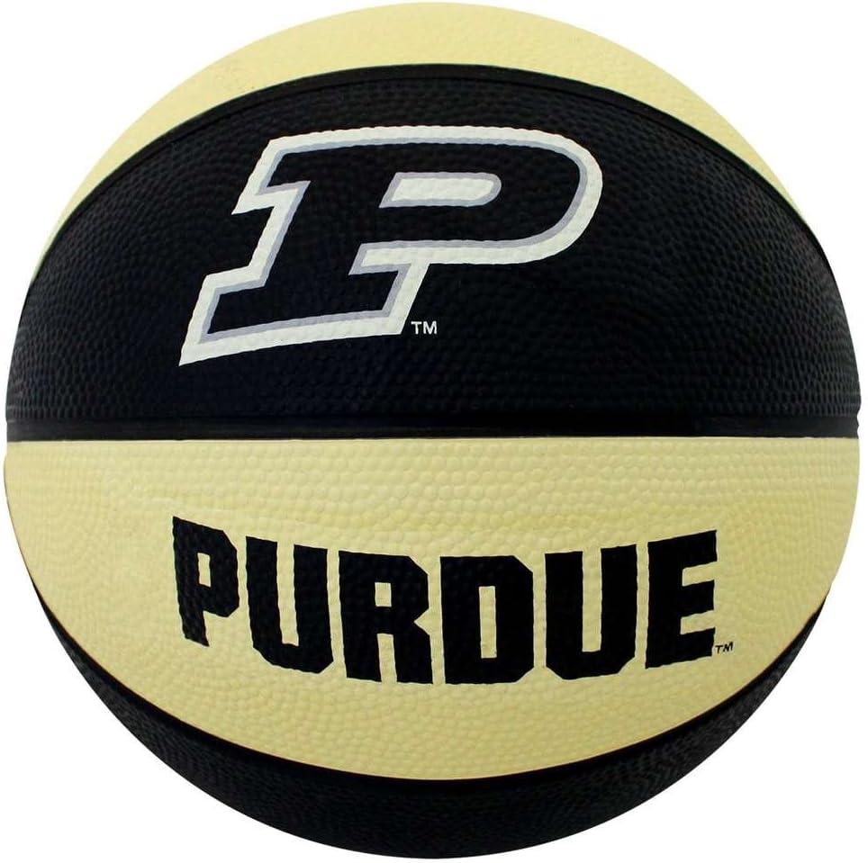 Purdue Boilermakers Mini Rubber Basketball