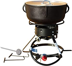 King Kooker 1204 Jambalaya Cooker, Black