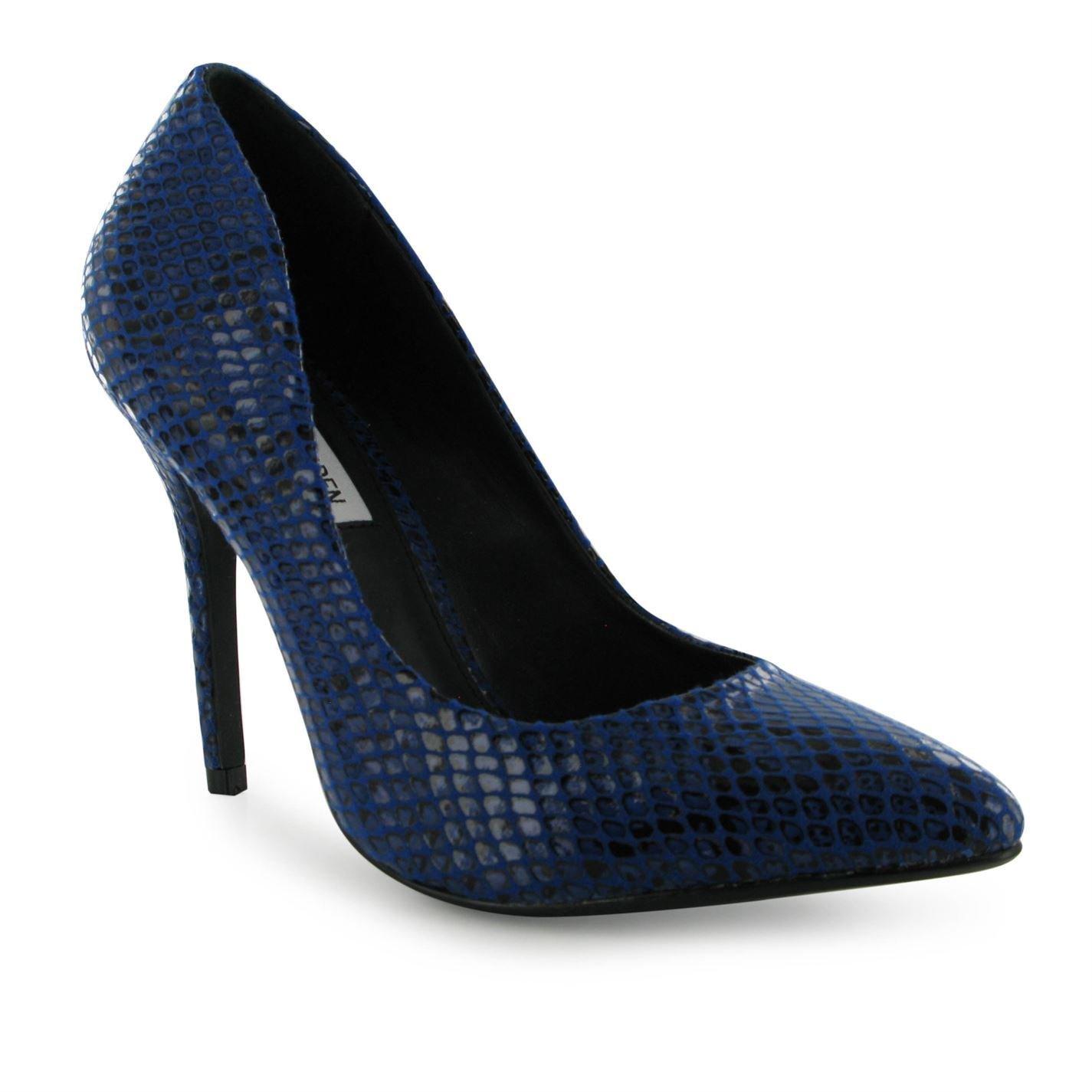 Steve Heel Madden Galerie Stiletto Heel Steve Schuhes Damen blau Damen Mode Schuhe - e8c1d2