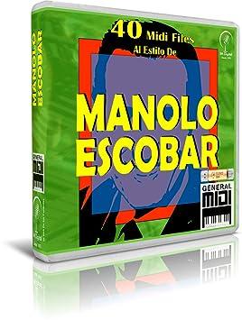 Manolo Escobar - Pendrive USB OTG para Teclados Midi, PC, Móvil, Tablet, Módulo o Reproductor Midi Que utilices: Amazon.es: Electrónica