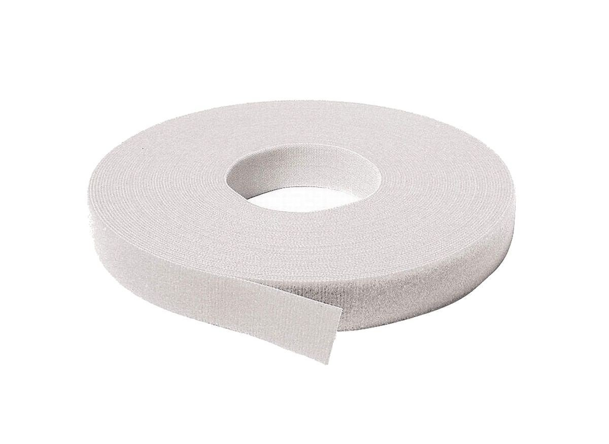 Velcro 170015 6 Pack 1/2in. x 25yds Back to Back Strap, White