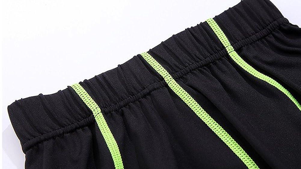 LaoZan Boys Kids Long Sleeve Cool Dry Compression Shirt and Leggings Baselayer Set Basketball Tights Set