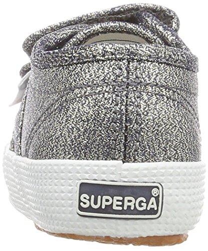 Superga Unisex-Kinder 2750 Lamebump Sneaker Grau (Grey)