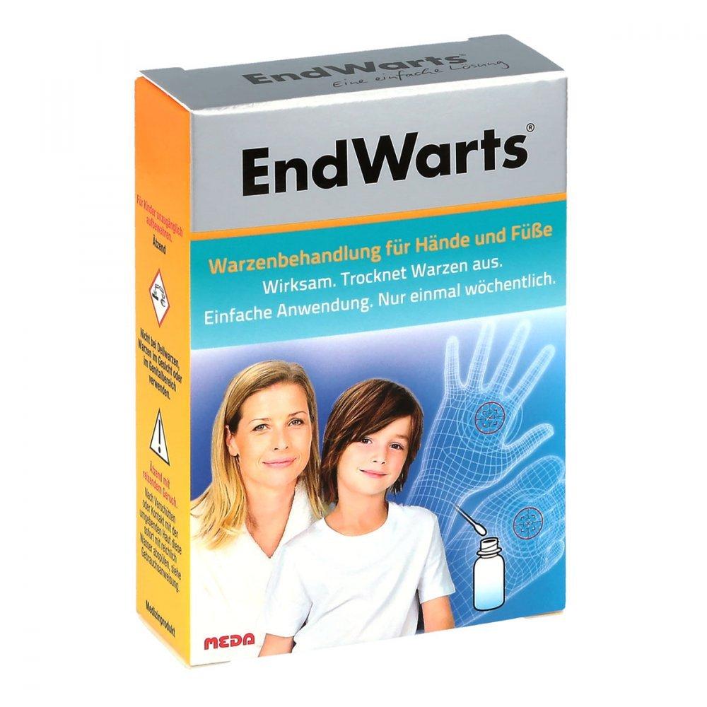 ENDWARTS Lösung inkl.Wattestäbchen 3 ml Lösung MEDA Pharma GmbH & Co.KG 0555-5003
