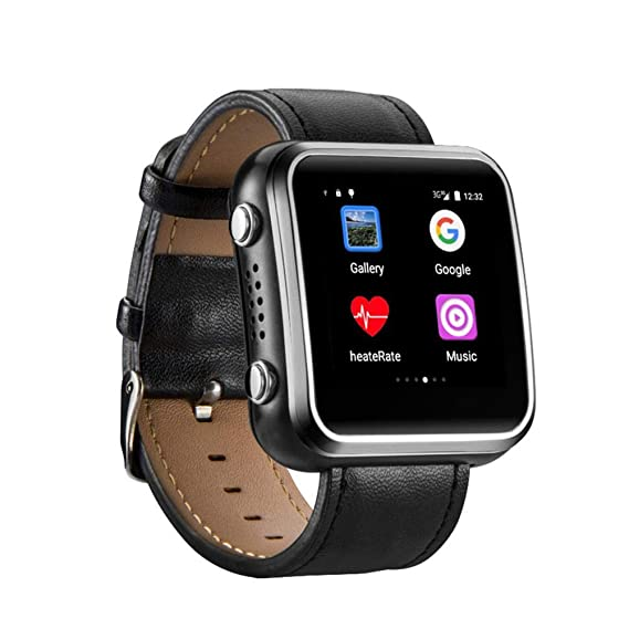 Lamptti 3G TPU Wristband Smart Watch, Elderly Guard Positioning Smart Watch,for Android,iOS
