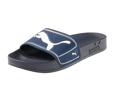 5bf3418f5e83 Puma King II Slide Bathing Sandals Mens Blue New Navy White Size  4 ...