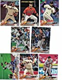 San Francisco Giants/Complete 2018 Topps Series 1 & 2 Baseball 21 Card Team Set! Includes 25 bonus Giants Cards!
