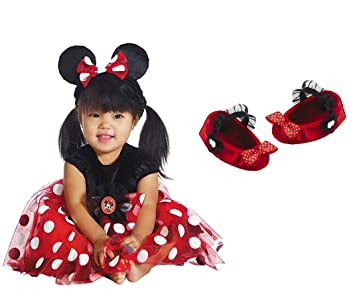 Babys First Halloween Costume Girl.My First Disney Minnie Mouse Halloween Costume Size 12 18 Months