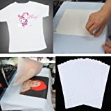 Inkjet Photo Transfer Paper 25 Sheets - Light Color Fabric - 8 1/2 X 11 Inches by world-paper