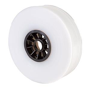 """Hudson Exchange LDPE Poly Tubing, Mini Roll, 2"""" W x 500' L, 4 Mil"""