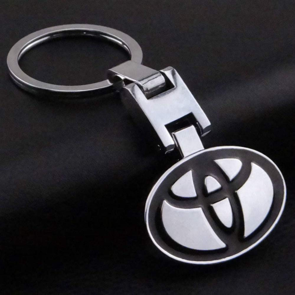 For 3D Metal Car Logo Keychain Key Chain Pendant Gift HERCHR Keyring
