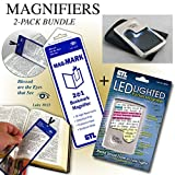 quest study bible esv - Lighted Magnifier & Bookmark Magnifier Combo Pack