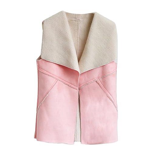 JianFeng - Abrigo - para mujer rosa rosa