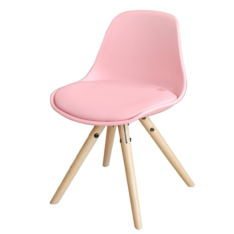 SoBuy® Sedia per bambini,Stil sedia,in legno di faggio,rosa, FST46-P,IT