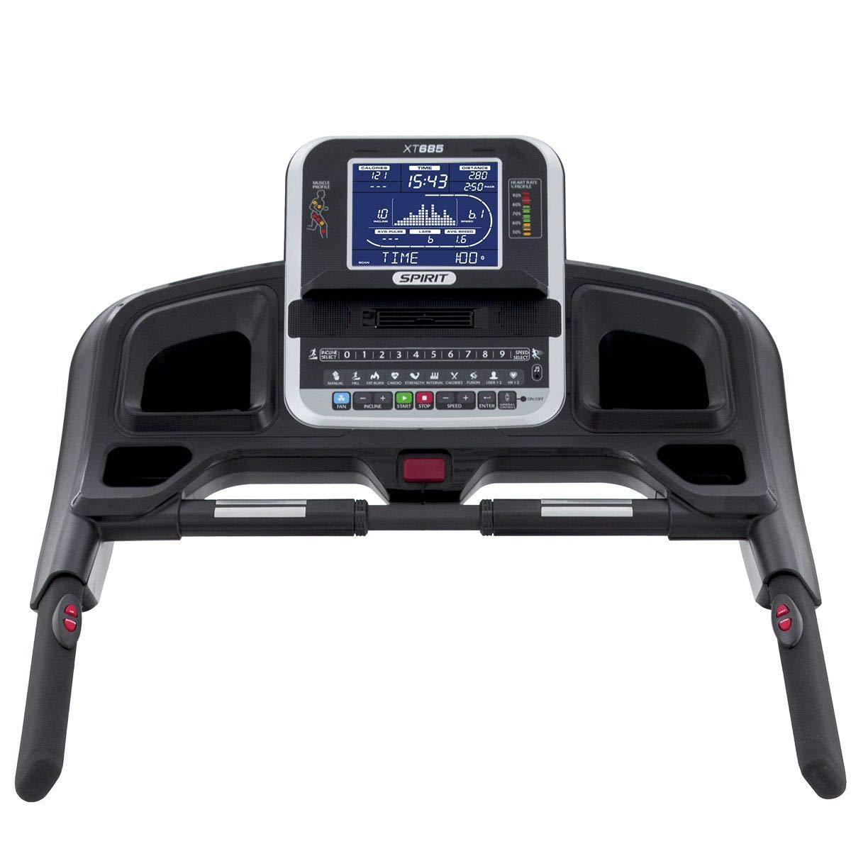 Cinta de correr XT685 Spirit Fitness: Amazon.es: Deportes y ...
