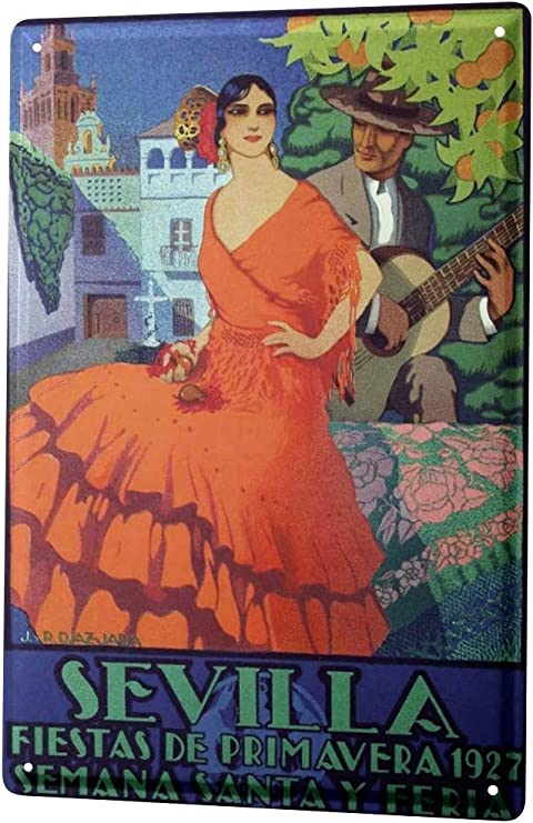 LEotiE SINCE 2004 Cartel Letrero de Chapa Viaje Cocina Sevilla ...