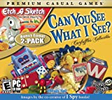 Etch a Sketch and Can You See What I See - 2 Pack - Standard Edition