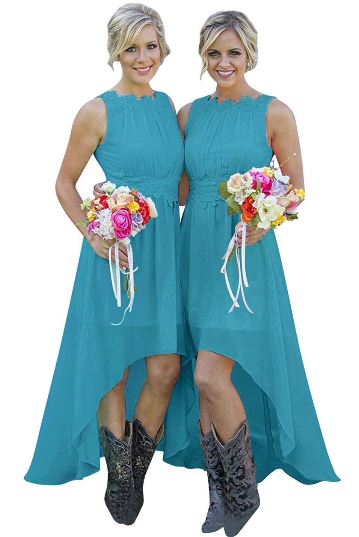 high low teal bridesmaid dresses, OFF 20,Buy