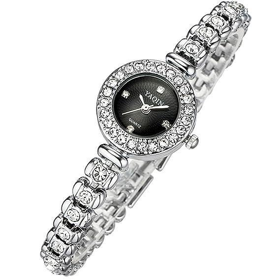 Women Bracelet Wrist Quartz Watch Waterproof Dress Watches Rhinestone Watches Wristwatch