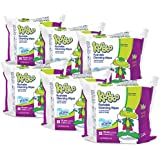 Kandoo Kids Flushable Wipes Refill, Potty Training Cleansing Cloths, Magic Melon, 100 Count (Pack of 6)