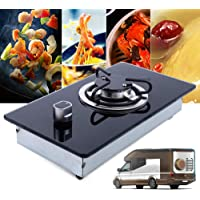 Deli-mate 30 Gas Cooktop Dual Fuel 5 Sealed Burners Gas Hob Tempered Glass Drop-In Gas Stove DM517-SA01 Gas Hob