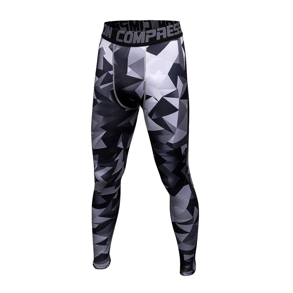 SUYUN Pantalones de Secado rápido Pantalones de Fitness Hombres ...