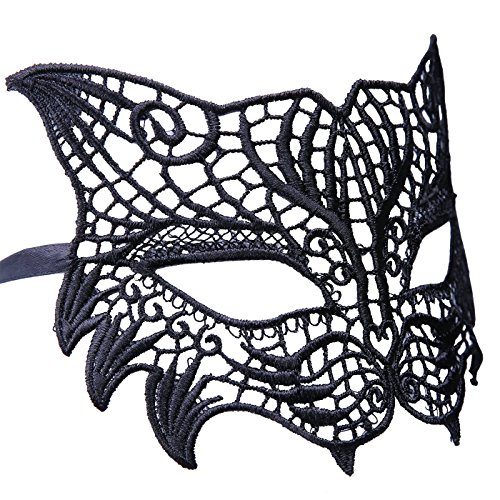 HDE Women's Masquerade Masks Venetian Halloween Lace for sale  Delivered anywhere in Canada