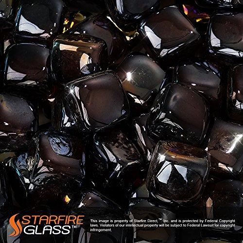 Starfire 10 Pound Glass Fire Cubes Reflective