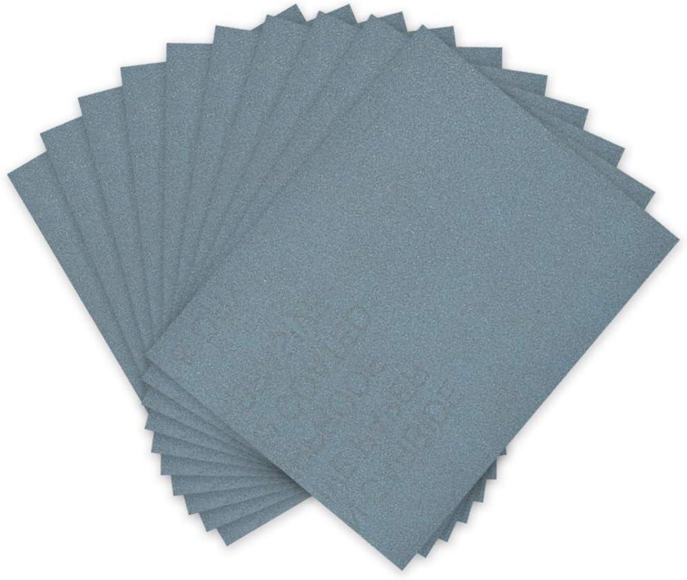 "10 pcs Hi Quality Abrasive Paper Sandpaper 5000 Grit 9/"" x 11/"" Wet Dry Waterproof"