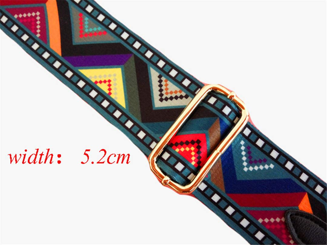 Handbags Strap National Wove Design Gold Buckle Canvas Bags Straps Lady Bags Belts Easy Holding Shoulder Straps AA178 jiao juan ge pink