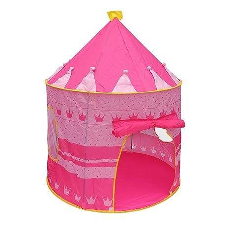 TataYang Tienda de campaña para niñas con Castillo de Princesa y Tienda de campaña portátil para