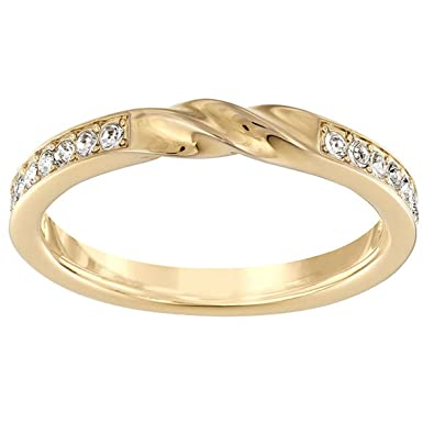 71d1c09da Amazon.com: Swarovski Curly Ring, Gold Plated: Jewelry