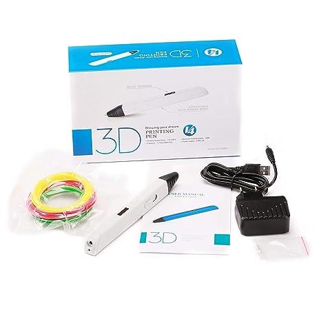ZHQEUR Pluma de impresión 3D Juego de bolígrafos 3D for ...