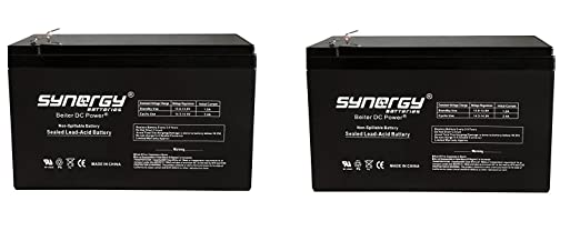 BATTERY REPL.. RAZOR GROUND FORCE ELECTRIC GO KART - 2 Pack ( Battery Only - Reuse Existing Connector )