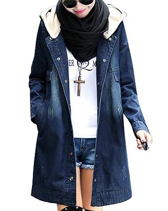 jeans mantel damen